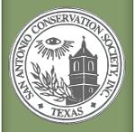 San Antonio Conservation Society logo