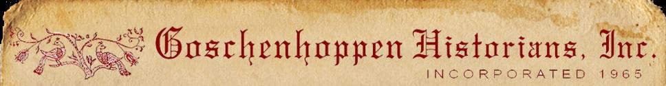 Goschenhoppen Historians logo