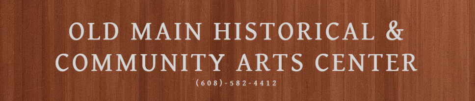 Old Main Historical and Community Arts Center Logo