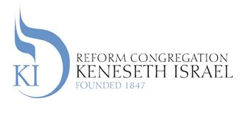 Reform Congregation Kenesth Israel logo