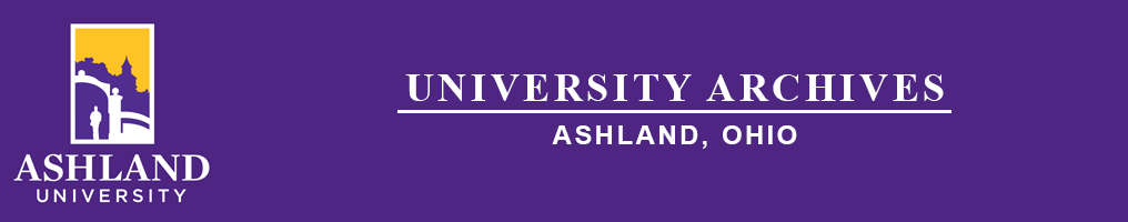 Ashland University Archives logo
