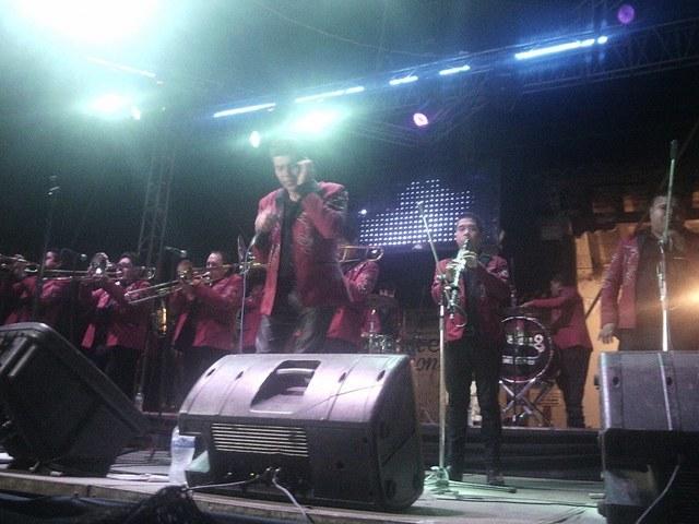 Bandas tocando en patamban