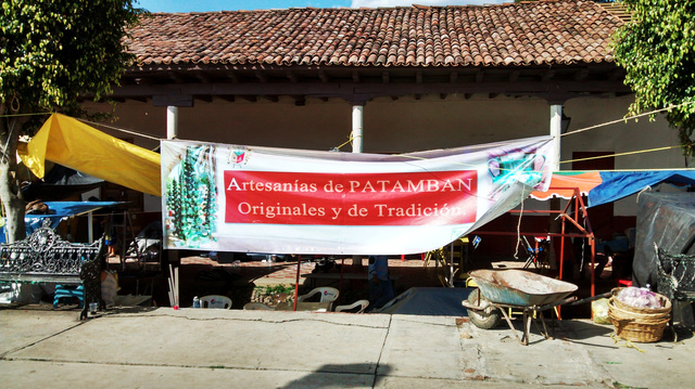 Cartel concurso artesanias en patamban michoacan
