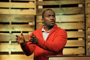 Dhati Lewis practices the discipleship often preached