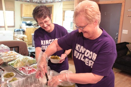 Ridgecrest Baptist team builds the kingdom