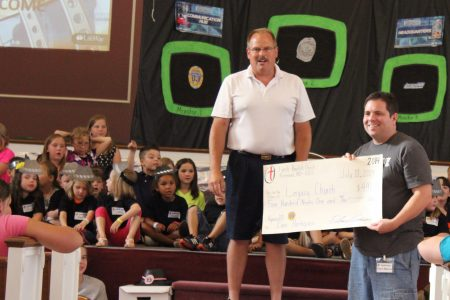 Missouri children meet KC planter their VBS funds support