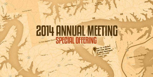 Special offering to be taken at annual meeting