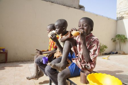 Street boys in Senegal find refuge