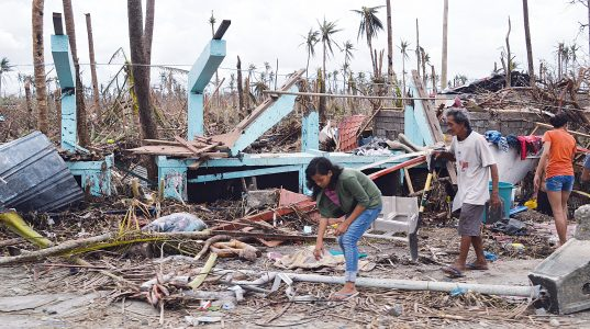A year after typhoon, Filipino island thriving