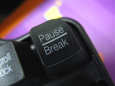 Time to push 'Pause'