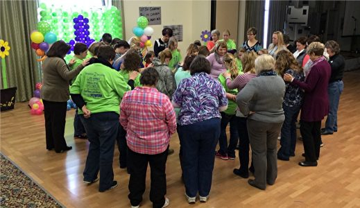 One generation declares God's work to another at TGE Conference