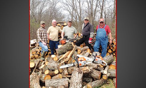 Rural church chops wood to share the love of God
