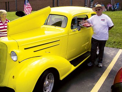 Man's drive to share gospel fuels car show