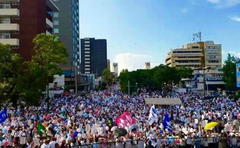 Tens of thousands protest gay 'marriage' decision in Mexico