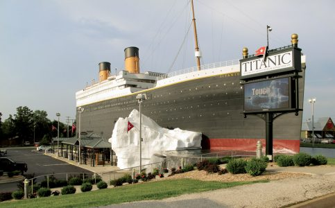 Branson's Titanic free for pastors in October
