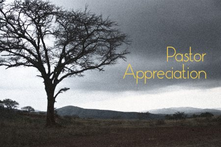 Bless the man of God – Pastor Appreciation Month