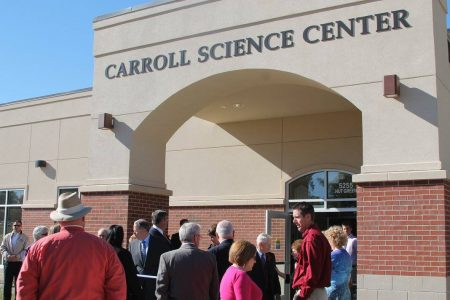 HLGU Dedicates Carroll Science Center