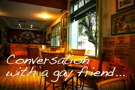 Conversation with a gay friend: Biblical answers with 'gentleness and respect'