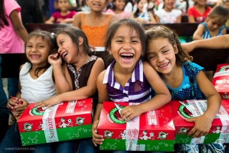 FBC St. Charles gives Christmas gifts to kids worldwide