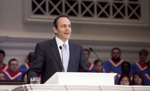 Southern Seminary donor Matt Bevin elected Kentucky governor
