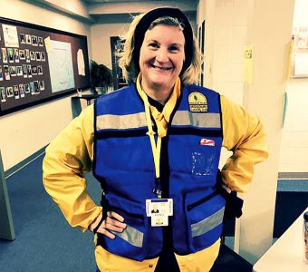 Counselor lends professional ear in flood zone