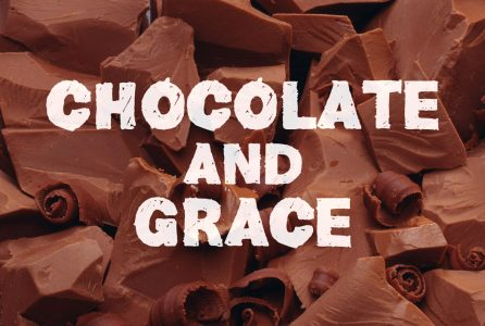 Covered with chocolate, grace