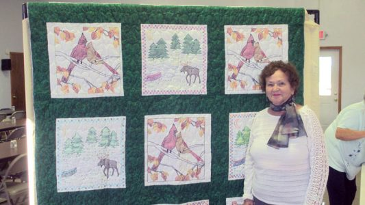 Quilts raise funds for Children's Home