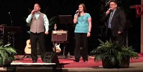 Small church pastors blessed at MB125