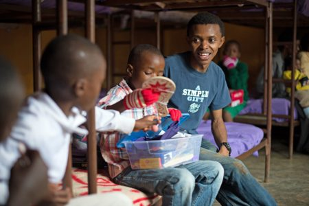 FBC Ferguson sees the impact of a Christmas gift in a shoebox