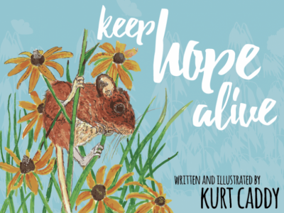 SBU's Kurt Caddy: Children's book to bring hope of Christ to Lakota tribe