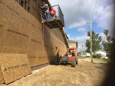 Baptist Builders help FBC Bevier raise profile in community