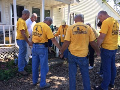 'Flexible, flexible, flexible;' MBC DR volunteers roll with the punches responding to Hurricane Matthew