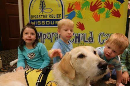 Labradoodle joins DR in childcare ministry