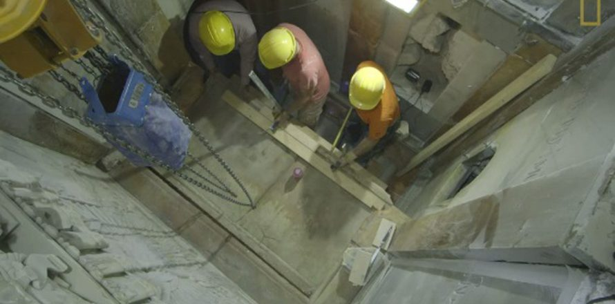 Jesus' purported tomb unearthed for study