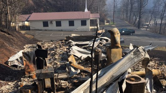 Gatlinburg fire suspects elicit churches' sympathy
