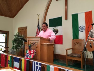 Church reinforces mission emphasis