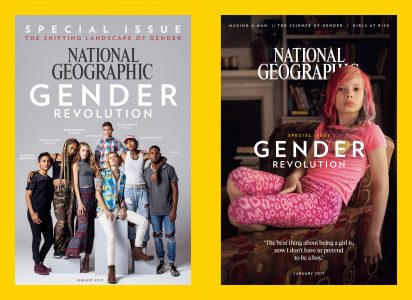 Transgender child on Nat. Geographic cover