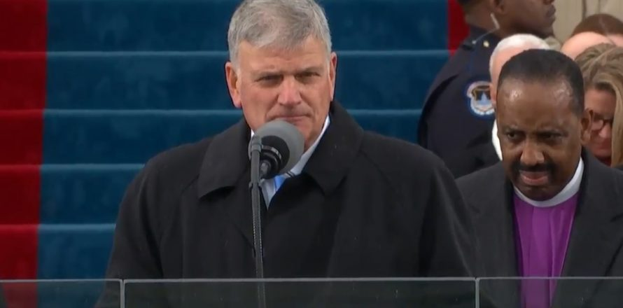 Baptists involved with inauguration