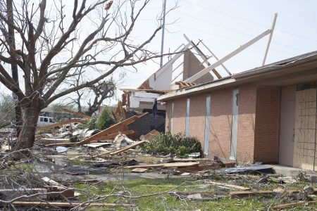 La. tornado destroys church, delays NOBTS chapel