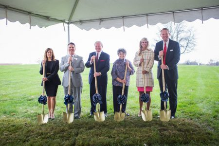 MBTS breaks ground for student center