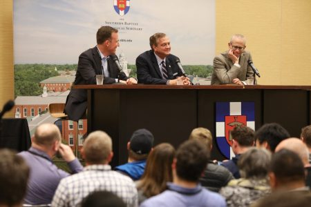 'Cooperation without compromise:' SBTS' Mohler discusses evangelical, Catholic cooperation at TGC