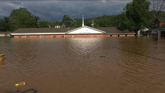 Update: Missouri flooding damages churches, calls DR to action