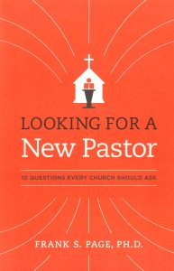 '10 Questions': Frank Page's guide for pastor searches
