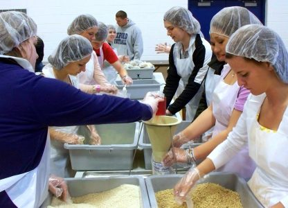 Churches hope to pack million meals for St. Louisans