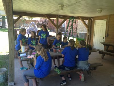 Macedonia Baptist youth camp teaches service