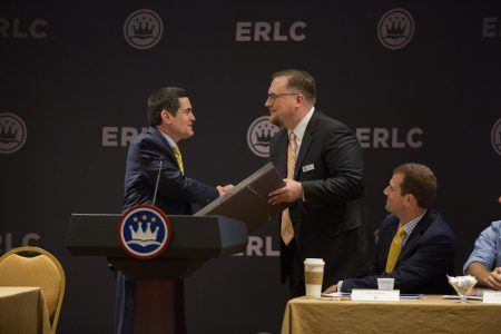 ERLC honors trustee from Mo.