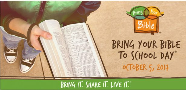 'Bring Your Bible to School' Oct. 5, FOTF urges