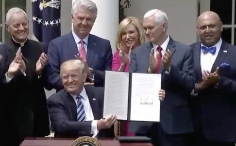 Trump's new abortion mandate rules promote religious freedom