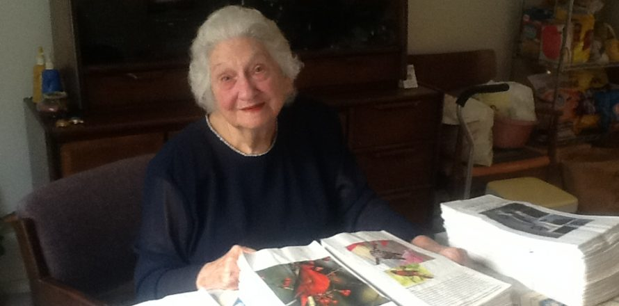 Homebound 89-year-old still invests in ministry