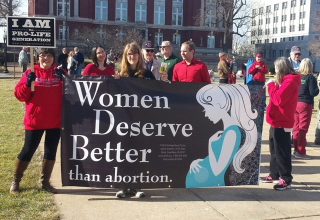 Pro-Life advocate Bonnie Lee gives voice to the voiceless